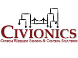 Civionics - Custom Wireless Sensing & Control Solutions