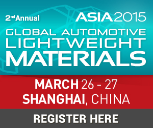 Global Automotive Lightweight Materials Asia 2015